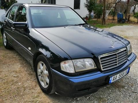 1999 Mercedes-Benz C Blu Ne Shitje Foto 2