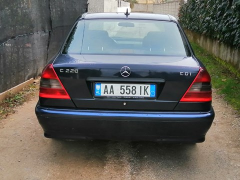 1999 Mercedes-Benz C Blu Ne Shitje Foto 4