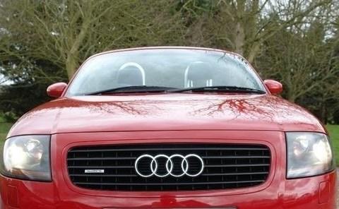 2001 Audi TT E Kuqe Ne Shitje Foto 6