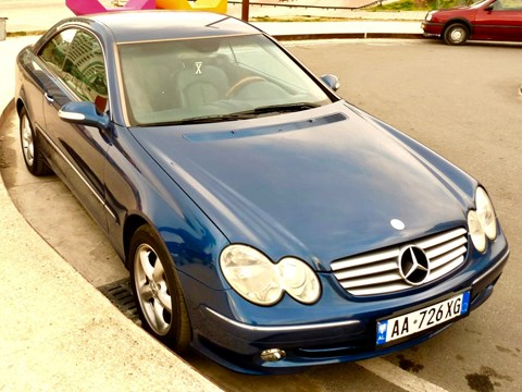 2003 Mercedes-Benz CLK E Kaltër Ne Shitje Foto 3