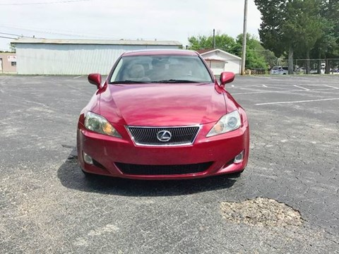2006 Lexus IS E Kuqe Ne Shitje Foto 1