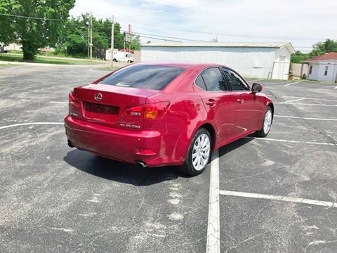 2006 Lexus IS E Kuqe Ne Shitje Foto 6