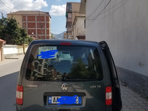 2006 Volkswagen Caddy Gri Ne Shitje Foto 2