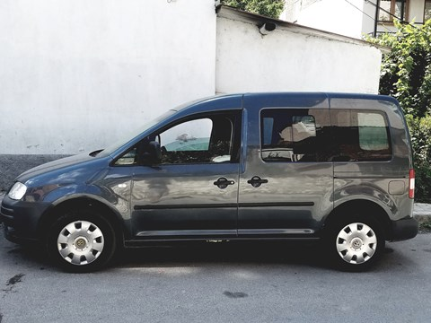 2006 Volkswagen Caddy Gri Ne Shitje Foto 5