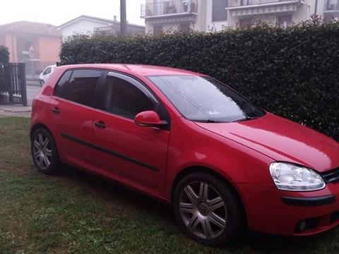 2006 Volkswagen Golf E Kuqe Ne Shitje Foto 1