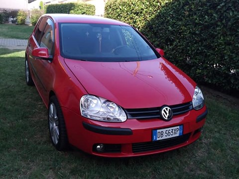 2006 Volkswagen Golf E Kuqe Ne Shitje Foto 3