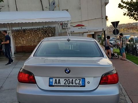 2007 BMW 525 E Argjendtë Ne Shitje Foto 6