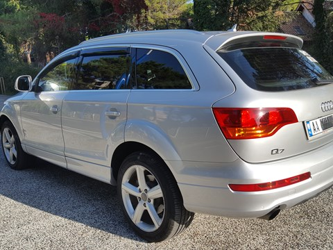 2008 Audi Q7 E Argjendtë Ne Shitje Foto 2