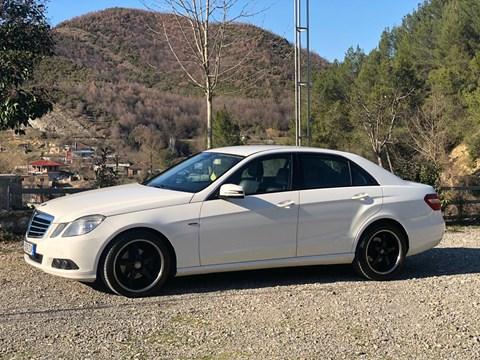 2009 Mercedes-Benz E Bezhë Ne Shitje Foto 1