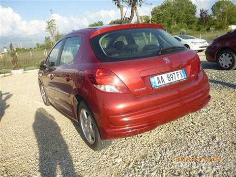 2009 Peugeot 207 E Kuqe Ne Shitje Foto 1