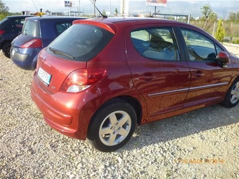 2009 Peugeot 207 E Kuqe Ne Shitje Foto 2