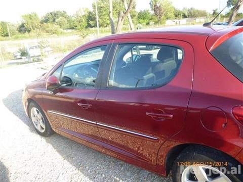 2009 Peugeot 207 E Kuqe Ne Shitje Foto 4