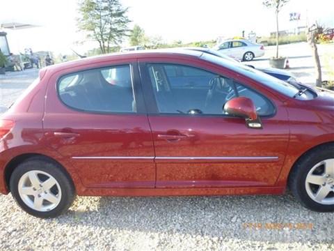 2009 Peugeot 207 E Kuqe Ne Shitje Foto 5