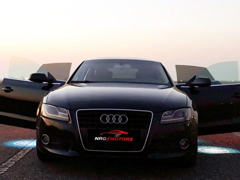 2011 Audi A5 E Zezë Ne Shitje Foto 2