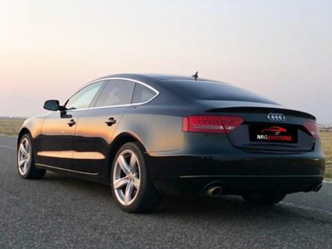 2011 Audi A5 E Zezë Ne Shitje Foto 4