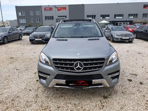 2012 Mercedes-Benz ML Gri Ne Shitje Foto 2