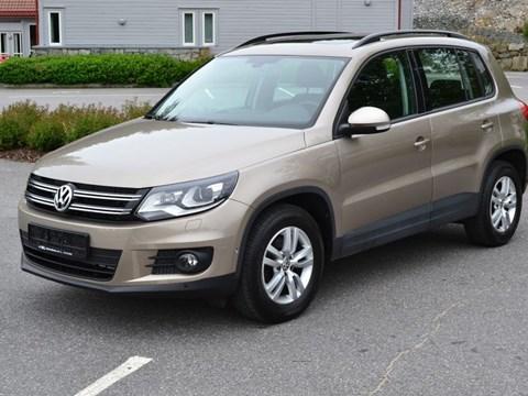 2012 Volkswagen Tiguan Bezhë Ne Shitje Foto 1