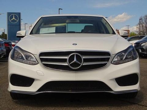 2014 Mercedes-Benz E-Class E Bardhë Ne Shitje Foto 2