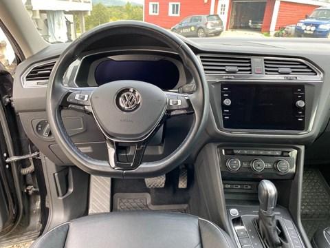 2014 Volkswagen Tiguan E Zezë Ne Shitje Foto 3