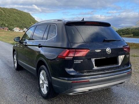 2014 Volkswagen Tiguan E Zezë Ne Shitje Foto 4